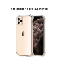 For iPhone 11 High Clear Gel Transparency Anti fall Cover Case