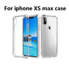 For iPhone X/XR/XS/XS Max High Clear Gel Transparency Anti fall Cover Case