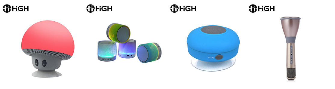 Custom Portable Bluetooth Speakers