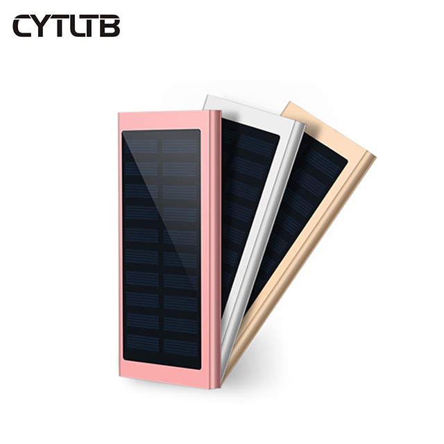 S13 8000mah slim solar battery charger mobile power bank shen zhen new produc power bank
